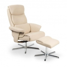 MAYER fotel + lábtartó BEIGE színben