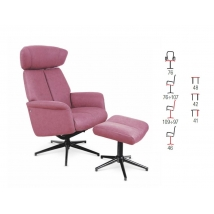 VIVALDI pihenőszék Rózsaszín
