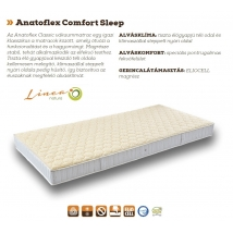 ANATOFLEX Comfort Sleep Classic matrac 140x200 cm - 16 cm vastag