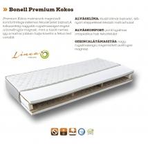 BONELL PREMIUM KOKOS bonellrugós matrac 90x200 - 23 cm vastag