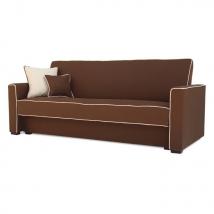 LUMIA kattanós kanapé BARNA színben