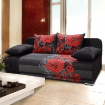 REMI kanapé FEKETE színben